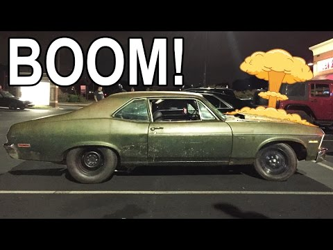 Twin Turbo Chevy EXPLODES Street Racing!