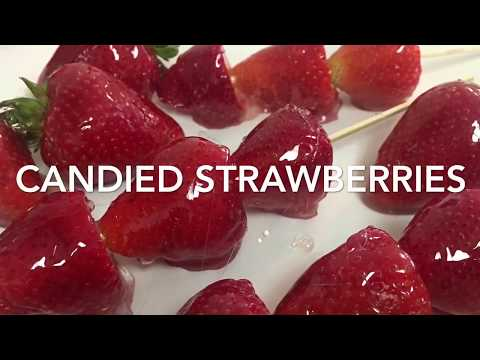Candied Strawberries Recipe