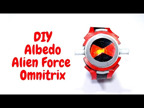 Ben 10 Alien Force Albedo Omnitrix  - DIY Tutorial