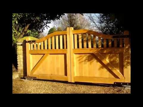 Wooden Gates By Woodworks of Epping 01992 574777
