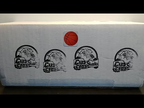Big Shark 10-Pack Modern Basketball Package unboxing (Card Sharks Club review)