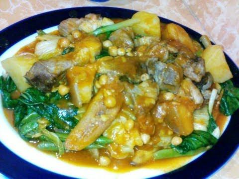 POCHERO - Philippines Style Recipes, pork pochero in filipino style