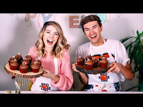 How To: Easter Chocolate Cupcakes With Mark | Zoella