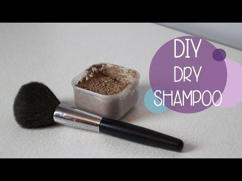 DIY | Natural Dry Shampoo & How To Apply - sarahhtranTV