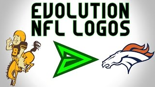 The Evolution of NFL logos