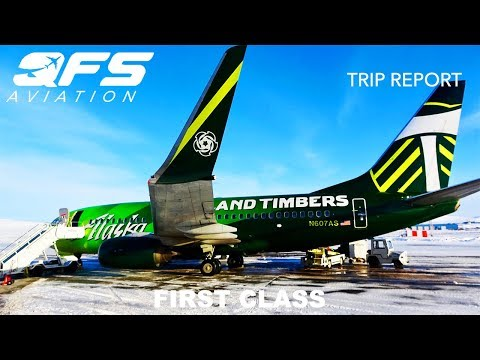 TRIP REPORT   Alaska Airlines - 737 700 - Anchorage (ANC) to Nome (OME)   First Class
