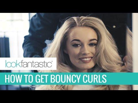 Easy Big Bouncy Curls Hair Tutorial with Redken