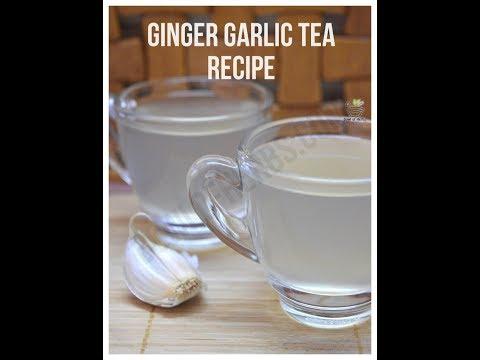 Ginger garlic tea - Home remedy