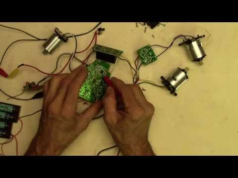 Electronics Salvage From RC Toys