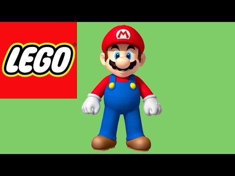How to Build LEGO Mario - Super Mario Nintendo | Bricks and Clay Play