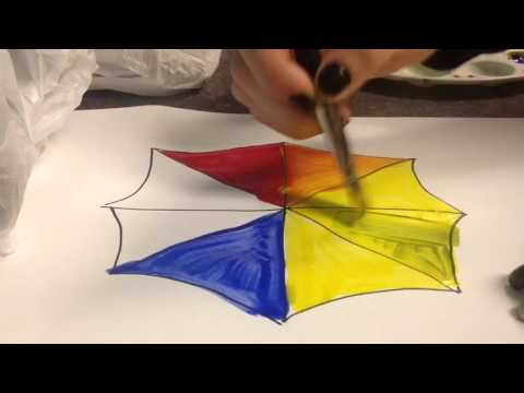 Primary and Secondary Colors - 1st Grade sub plan