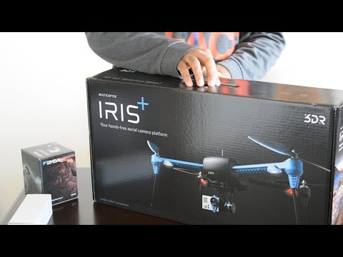 Unboxing - 3DR Iris+ (Plus) Drone with Tarot T2D Gimbal