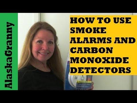 How To Use Smoke Alarm Carbon Monoxide Detector