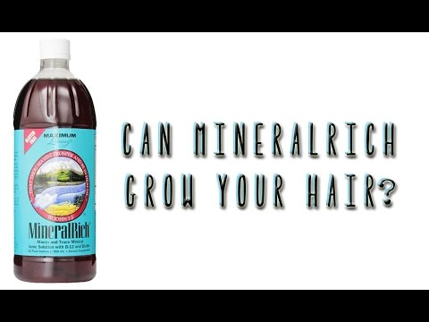 MineralRich Liquid Vitamin for Hair Growth (Starting Length + 1 Month Results)