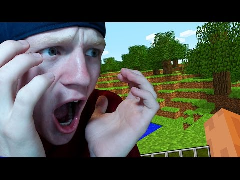 REACTING TO MY FIRST MINECRAFT VIDEO!
