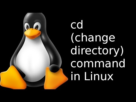commands in Linux - cd