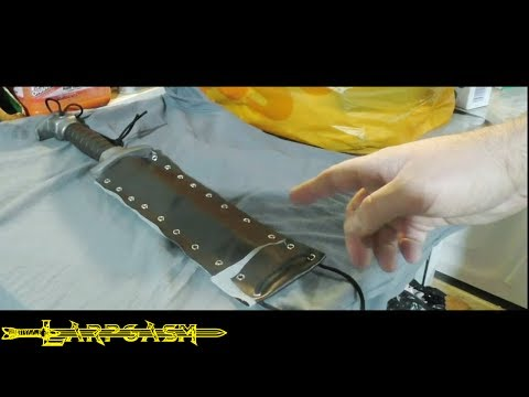 How To Make A Knife or Dagger Sheath For Larp
