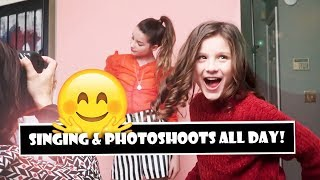 Singing & Photoshoots All Day! 🤗 (WK 373) | Bratayley