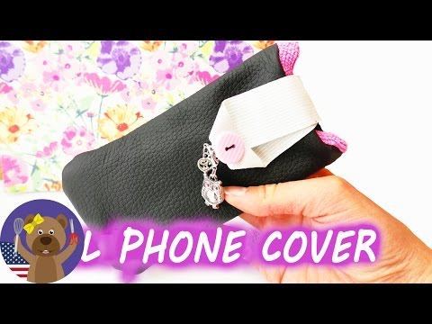 Phone Case | DIY Sewed Phone Case | Sewing Project