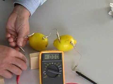 Create a Lemon Battery
