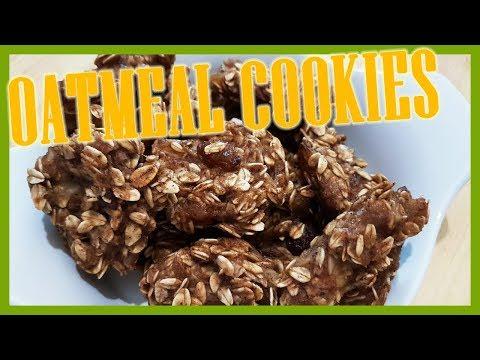 How to Make Soft Oatmeal and Banana Cookies