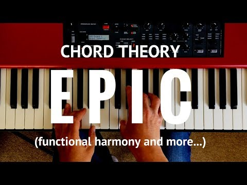 Chord theory epic: functional harmony, secondary dominants, substitutions and diminished 7ths