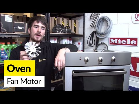 How to replace an oven fan motor in an electric cooker