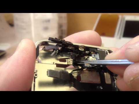 iPhone 4S bezel Buttons Upgrade Repair.mov