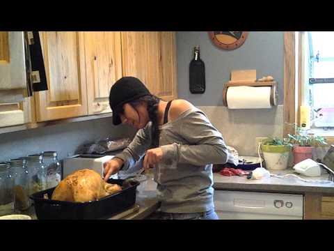 Thanksgiving Prank - Pregnant Turkey.