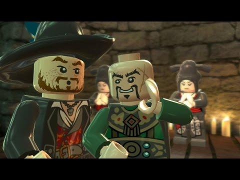 LEGO Pirates of the Caribbean Walkthrough Part 11 - Singapore (At World's End)