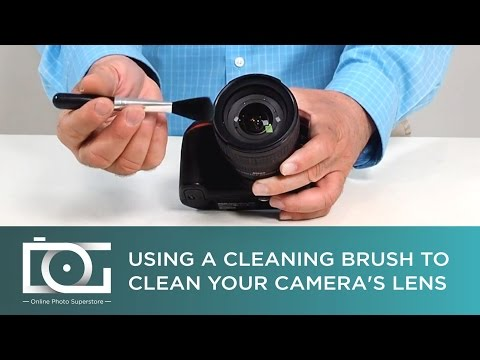 TUTORIAL | Use a Cleaning Brush to Clean Your Camera Lenses and Other Items | By Altura Photo®