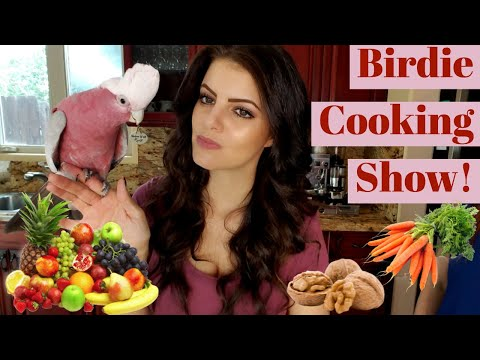 MY PARROTS LOVE HEALTHY FOOD| PARROT COOKING SHOW | PARRONT TIP TUESDAY