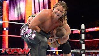 John Cena vs. Dolph Ziggler - United States Championship Match: Raw, October 12, 2015