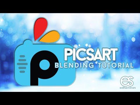 PICSART TUTORIAL: HOW TO BLEND IN PICSART (@EDITSEMINARS)