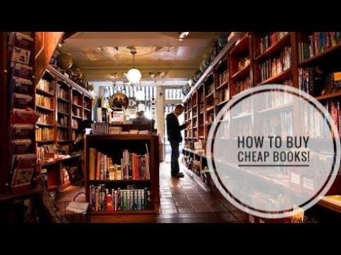 How To Buy Cheap Books ?