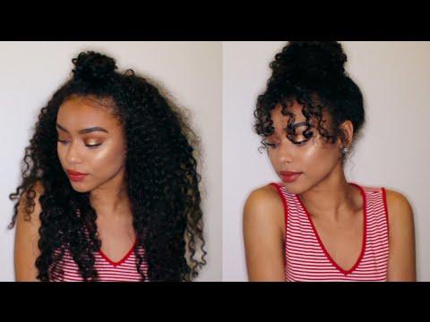 8 Easy Curly Hairstyles | Curly Hair Tutorial | KiaraConsuelo