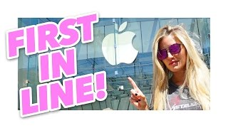 First in line for iPhone 7 at the Apple Store!