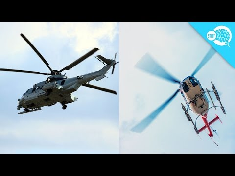 Here's Why Helicopter Blades Can Look Strange On Video