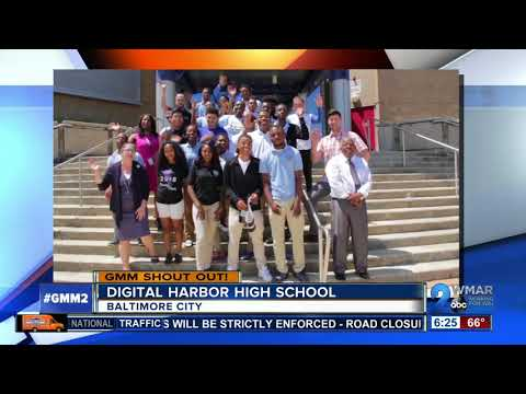 Good morning from students at Digital Harbor High School!