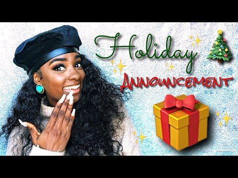 Big Holiday ANNOUNCEMENT ! ! | alexuscrown