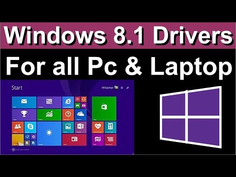 Download and install drivers in Windows 8.1 - Windows Help