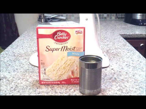 How to Bake a Cake in a Tin Can