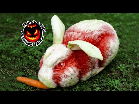 Rabbit - Best Watermelon Carving!
