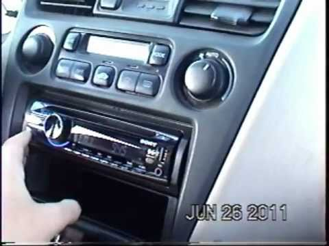 2000 Honda Accord stereo replacement in 5 minutes