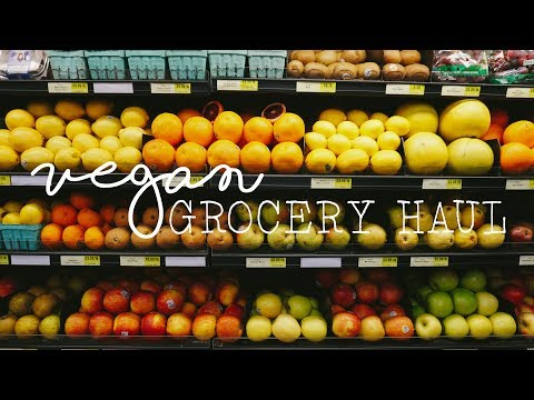 VEGAN GROCERY HAUL//Healthy + Budget friendly