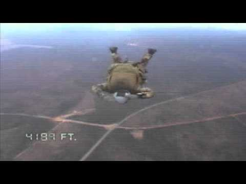 USAF PJ Pararescue HALO Jump 1st Person Point Of View