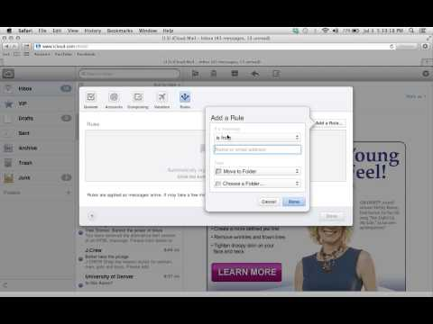 How to Block an Email Address on iCloud