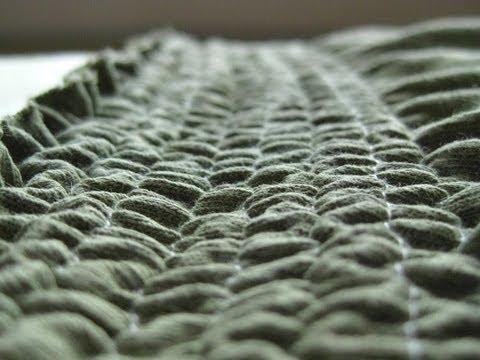 How to Shirr with Elastic Thread: Skirt Waistband Tutorial