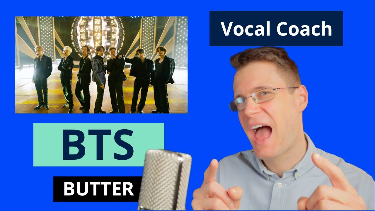 """Vocal Coach Reacts to BTS singing """"Butter"""" at Billboard Music Awards"""