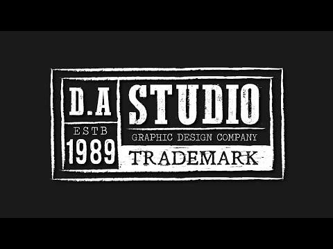 Make Your Own Trademark Logo Design - Illustrator Tutorial